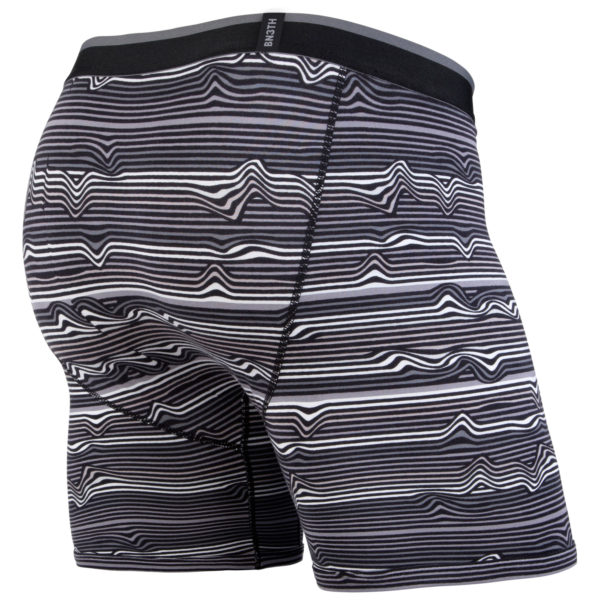 CBB Warp Stripe Black Back